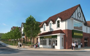 Proposed view of Morrisons Small