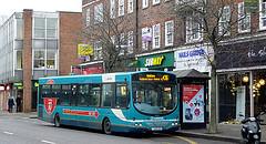 Bus in Weybridge-01