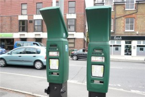Elmbridge parking meters