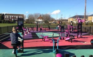 Long Ditton outdoor gym